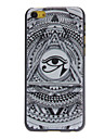 Anime Style Eyes Pattern Hard Case for iPhone 5C