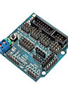 compatible (pour Arduino) capteur bouclier v5.0 carte d\'extension du capteur