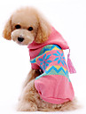 Собака Свитера Толстовки Одежда для собак Рождество В снежинку Костюм Для домашних животных