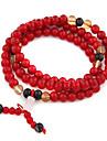 (1 шт) многоцветный Vintage 7см Женщин Агат браслет обруча (красный, синий и более)