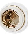 e27 пылезащитный керамический держатель лампы (белый) высококачественный осветительный аксессуар