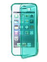 TPU Transparent Case Full Body pour iPhone 4/4S (couleurs assorties)