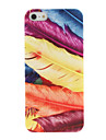 Fashion Designer Feather Style Plastic Case Cover for iPhone 5/5S
