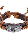 Unisexe Alligator bracelet en cuir de tissu (couleur aléatoire)