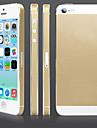 Scintillant autocollant de corps d'or pour l'iPhone 5/5S