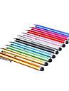 solid farge stilig metall stylus penn for ipad iphone 8 7 samsung galaxy s8 s7 (assorterte farger)