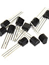 3-Pin Triode Transistor til DIY Project - Sort (20 x 10-Piece Pack)
