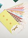 Стильные конверты 5 шт. (разные цвета)