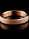 Anéis Diário Jóias Liga Feminino Anéis Grossos7 Dourado