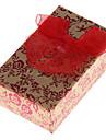 Femme Coffres a bijoux Rouge Papier Mode Soiree Quotidien Decontracte