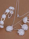 WEET ilver plaqué (collier& anneau& boucle& Bracelet manchette) et bijoux (ilver)
