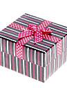 Linha Padrão Decor bowknot Cubic Watch Box