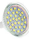 3W GU5.3(MR16) Точечное LED освещение 24 светодиоды Тёплый белый Холодный белый 250-300lm 6000K AC 12V