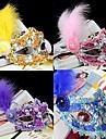 Cosplay Masque Bal Masque Unisexe Halloween Carnaval Nouvel an Fete / Celebration Deguisement d\'Halloween Rose Bleu Violet Jaune Couleur