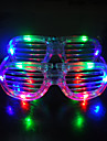 1 Pair Party Decorative LED Flash Glasses Masquerade Party&Concert Props