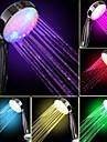Vattenflöde Power Generation Gradvis färg förändras LED handdusch
