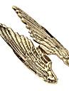 유럽과 미국 과장된 유행 사나운 천사 날개 금속 반지 (무작위 색깔)
