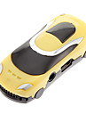 TF Car Shaped Reader MP3 Player Car Shape Yellow