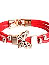 pu bracelet wrap bracelet de papillon de la mode multicouche