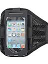 Élégant Housse de Noir réticulaire Gym Sports Brassard avec support bras Strap pour iPhone 5/5S