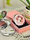 Personalizované dárky a Shivering Style Pink Chrome Compact Mirror