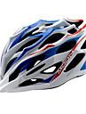 MOON Cycling Blue+White PC/EPS 28 Vents MTB Helmet