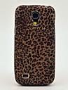 Мини леопардовым узором задняя крышка ТПУ мягкий чехол для Samsung Galaxy S4 Mini I9190