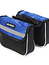 FJQXZ Ourdoor Multifunctional Expansible Waterproof Blue Bicycle Saddle Bag
