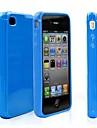 아이폰 4/4S (분류 된 색깔)를위한 사탕 패튼 뒤 케이스