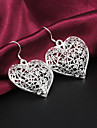 Women's Drop Earrings Silver Plated Jewelry For Wedding Party Daily Casual