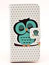 Для Кейс для  Samsung Galaxy Чехлы панели Кошелек Бумажник для карт со стендом Флип Магнитный Чехол Кейс для Сова Искусственная кожа для