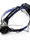 Headlamps / Bike Lights LED Cree XM-L T6 Cycling Adjustable Focus / Rechargeable / Strike Bezel 18650 700-900 Lumens Battery
