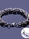 largura da ligacao chain artesanal presente personalizado de joias em aco inoxidavel gravado pulseiras 0,8 centimetros