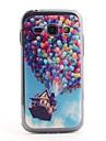 O teste padrão colorido balão PVC Back Case para Samsung Galaxy Ace S7272 3