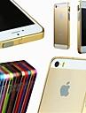 Para Capinha iPhone 5 Other Capinha Protetora de Quinas Capinha Cor Única Rígida Metal iPhone SE/5s/5