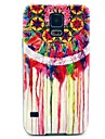 Diamond Shape Case with Rainbow Dream Catcher Pattern Hard Case Cover for Samsung Galaxy S5 I9600
