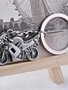 Linda Dominadora personalidade fresco Rua pesado Motocicleta aço inoxidável Chaveiro