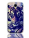 Affaire Tiger Eyeing conception rigide avec protection d'écran 3-Pack pour Samsung Galaxy S4 mini-I9190