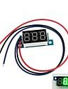 """Mini 0.36"""" 3 Digital LED Display DC 0V-200V Green Volt Voltage Meter Voltmeter"""