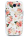 Beautiful Rose Flower Pattern Hard Back Case Cover for Samsung Galaxy S3 I9300