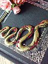 Forma Europeu de Ouro Cobra liga colar de pingente (1 Pc)