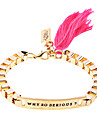 Women's ID Bracelets Silver Plated Gold Plated Alloy Jewelry Party Daily