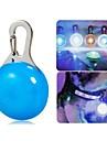 고양이 / 개 칼라 / LED안전 조명 방수 / LED 조명 화이트 / 블루 플라스틱