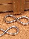 Eruner®32*13MM Alloy Infinite Charms Pendants Jewelry DIY (10PCS)