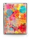 1 piece Protection Arriere pour Degrade de Couleur iPad 2 iPad 3 iPad 4