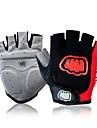 FJQXZ® Спортивные перчатки Муж. Перчатки для велосипедистов Лето ВелоперчаткиАнти-скольжение / Ударопрочность / Дышащий / Износостойкий /