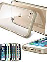 Toophone ® JOYLANDArmour Rubber Case Voltar para o iPhone 5/5S (cores sortidas)