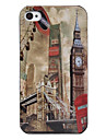 Case para iPhone 4 / 4S - Torre Vintage (Marrom)