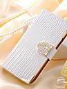 Brilhando Capa de Couro Carteira Bling cristal para i9300 Samsung Galaxy S3