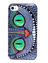 Green Eyes Owl Pattern Hard Case for iPhone 4/4S